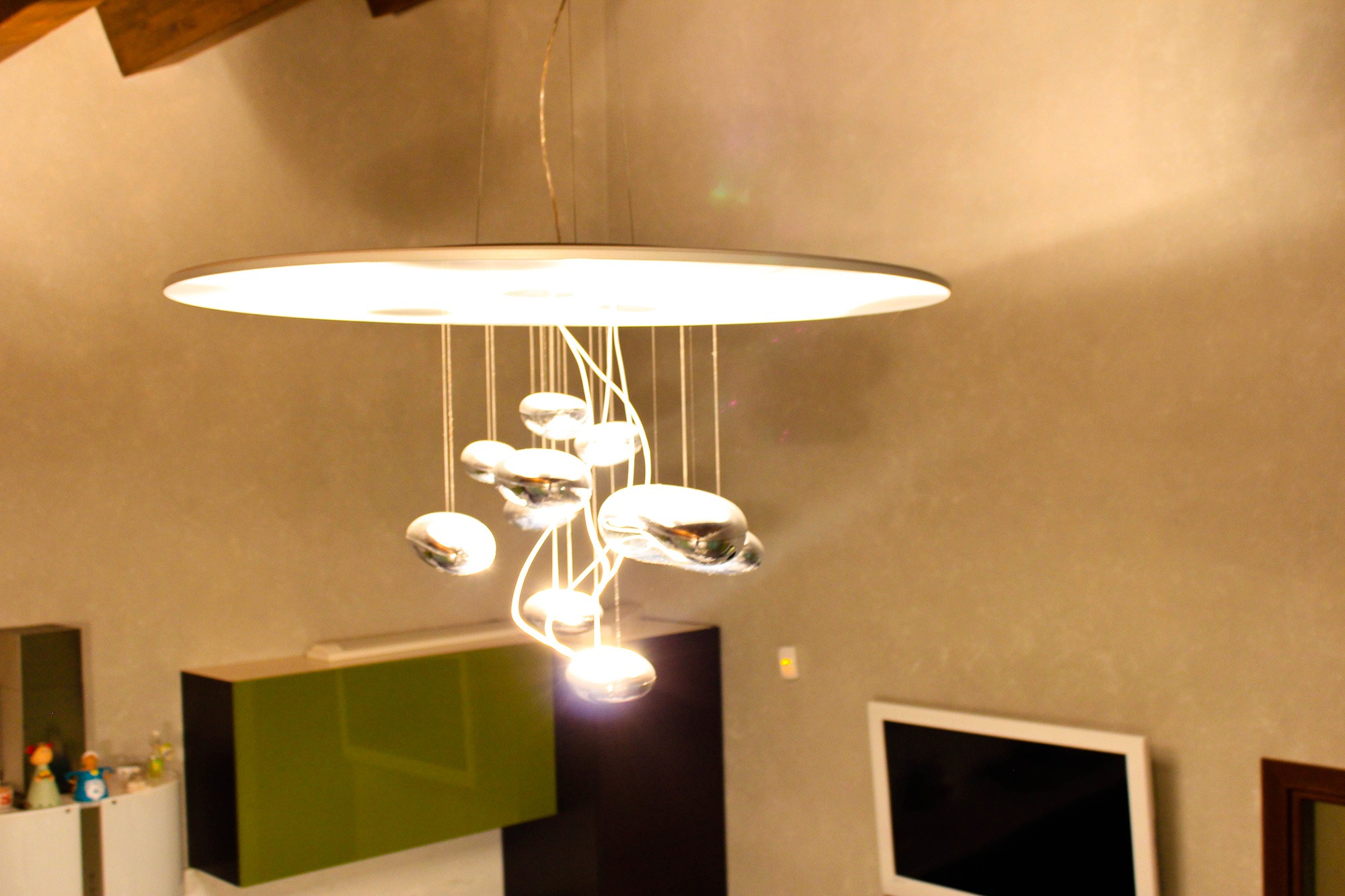 Best lampadari cucina artemide photos home interior for Lampadari design cucina