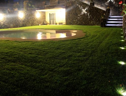 Agriturismo, Illuminazione esterna a LED