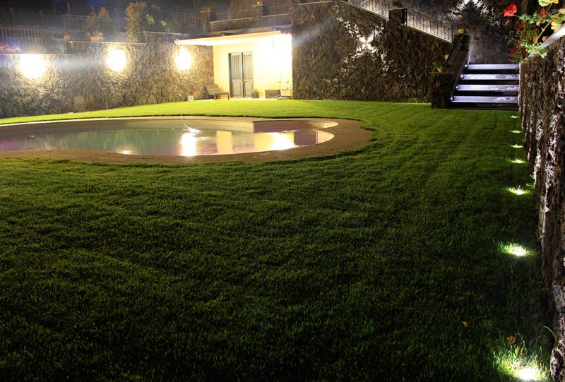 Agriturismo illuminazione esterna a led studio luce lampadari