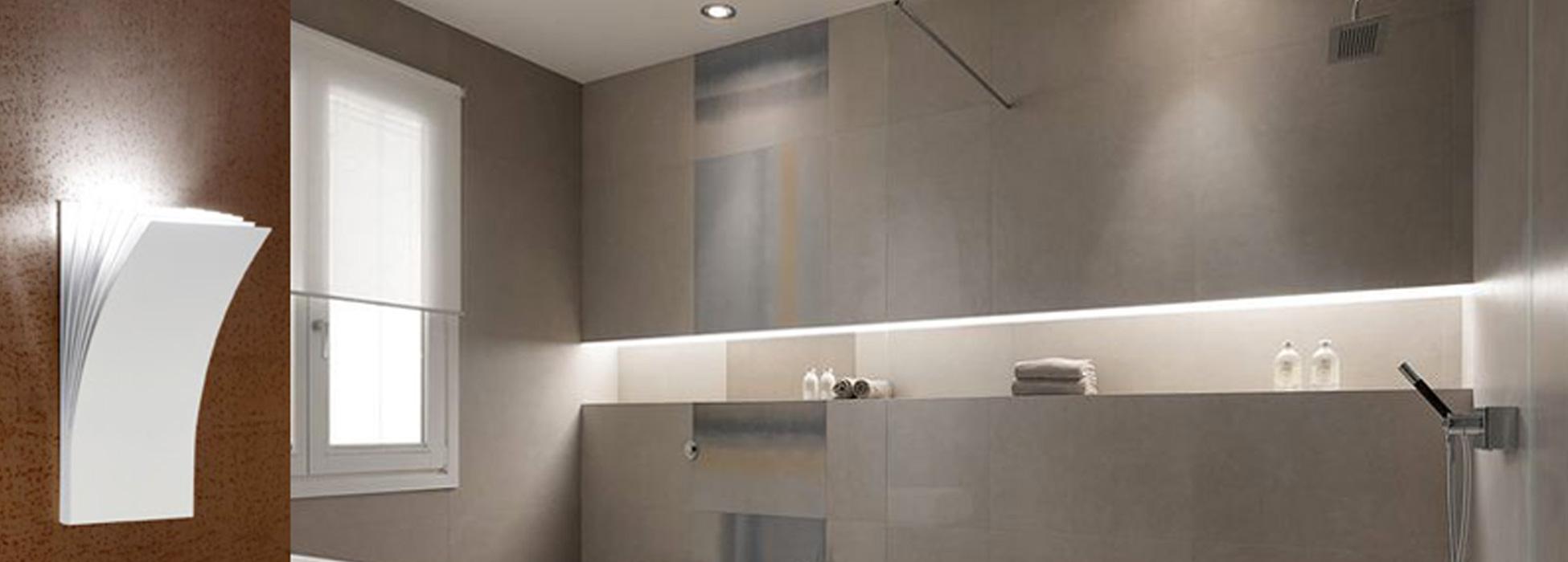 Illuminazione bagno led studio luce lampadari patern - Illuminazione bagno led ...