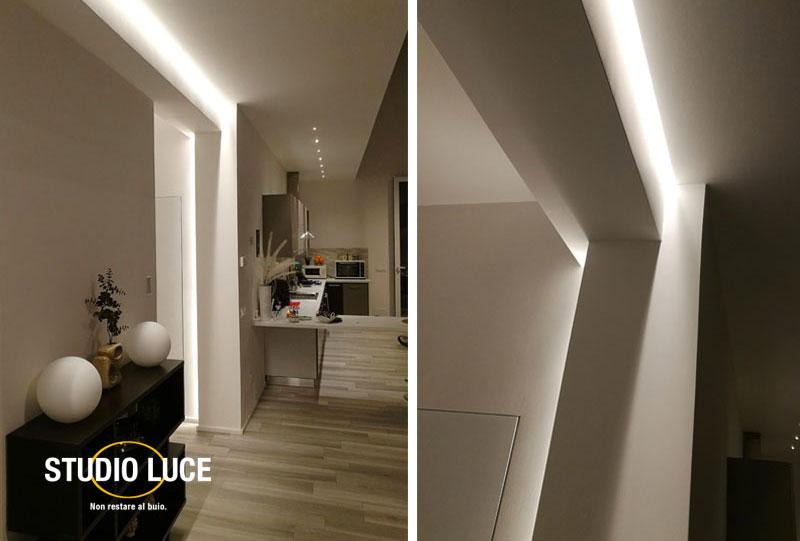 illuminazione LED wall washer
