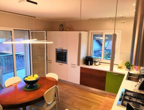 Illuminare un living, abitazione privata