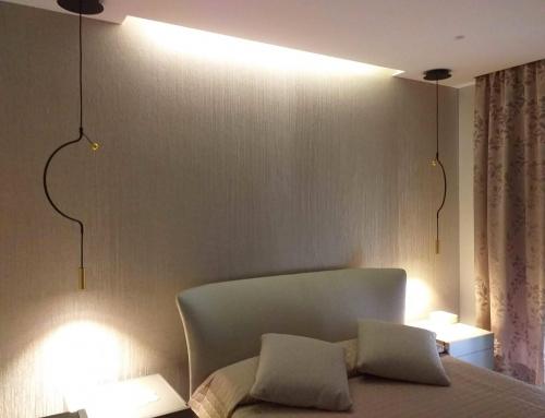 Completare l'illuminazione di un ambiente moderno
